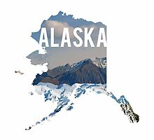 Alaska Mountains by Daogreer Earth Works