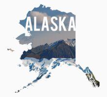 Alaska Mountains One Piece - Short Sleeve
