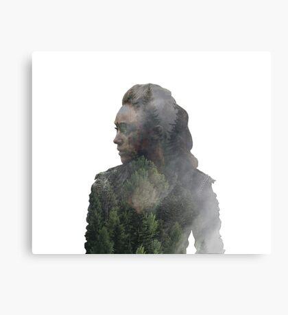 Lexa - The 100 Canvas Print