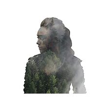 Lexa - The 100 Photographic Print