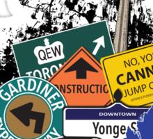 Big City Signs Sticker