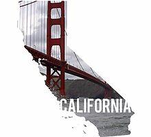 California - Golden Gate Bridge by Daogreer Earth Works