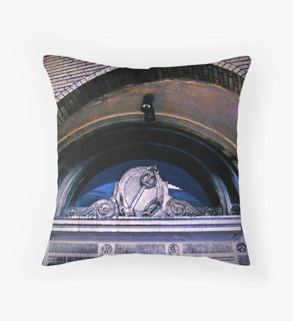 Angle Of The Sword Throw Pillow