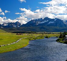 Stanley, Idaho by Talo Pinto