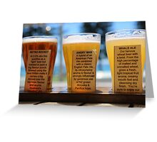 Murray's Best Beer at Manly Australia Greeting Card