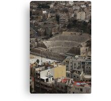 Amphitheatre in Amman Jordan Canvas Print