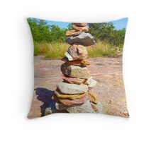 Well Balanced Throw Pillow