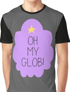 Lumpy Space Princess OH MY GLOB! Graphic T-Shirt