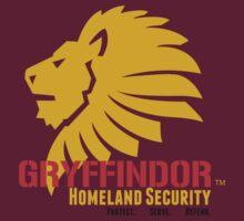 Gryffindor Homeland Security by Christoff Visscher