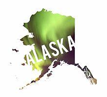 Alaska Aurora Borealis by Daogreer Earth Works