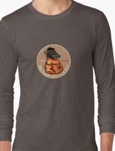 Crafty Pint Bicep Stout T-Shirt Long Sleeve T-Shirt