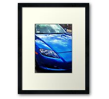 Blue RX-8 1 Framed Print
