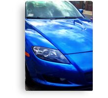 Blue RX-8 1 Canvas Print