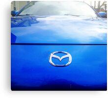 Blue Mazda RX-8 3 Canvas Print