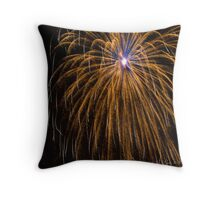 Pops on the River - One Throw Pillow