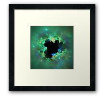 Halo Nebula Framed Print