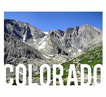 Colorado Mountains by Daogreer Earth Works