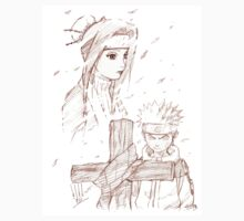 Naruto and Haku by SubaruYume