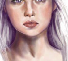Daenerys the Dragon Khaleesi Sticker