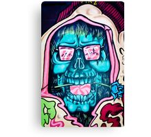 Welcome to Jolly Hallucinogenic 1969. Skull Graffiti  Canvas Print
