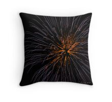 Pops on the River - Four Throw Pillow