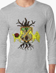Lemongrab Coat-of-Arms Long Sleeve T-Shirt