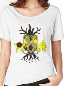 Lemongrab Coat-of-Arms Women's Relaxed Fit T-Shirt