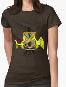 Lemongrab Coat-of-Arms Womens Fitted T-Shirt