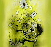 Zombie magic by KayaHarris