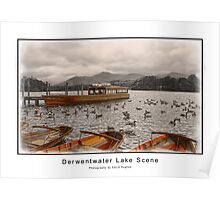 Derwentwater Lake Scene Poster