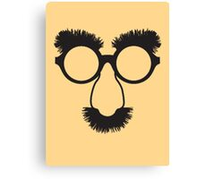 Groucho Specs Canvas Print