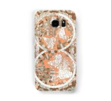world map antique 2 Samsung Galaxy Case/Skin