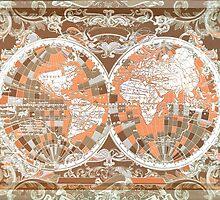world map antique 2 by BekimART