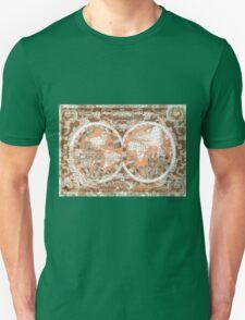 world map antique 2 Unisex T-Shirt