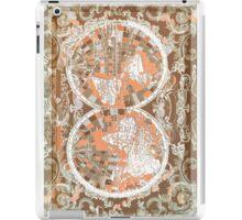 world map antique 2 iPad Case/Skin