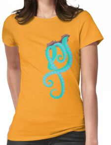 True Heart- MINT/AQUA/PINK Womens Fitted T-Shirt