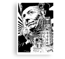 DOCTOR WHO - 1 Canvas Print