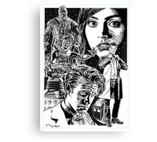 DOCTOR WHO - 11 Canvas Print