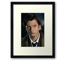 The 10th Dr Who Framed Print