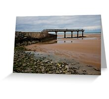 Omaha Beach Normandy France Greeting Card