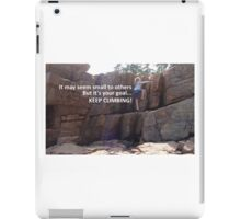 Goals (Color) iPad Case/Skin