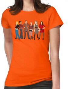 The Companions  Womens Fitted T-Shirt