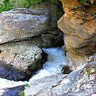 Linville Falls, North Carolina, U.S.A. by Glenn Cecero