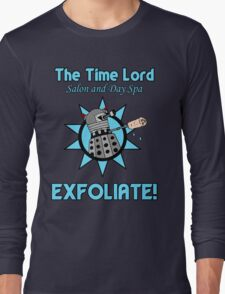 The Time Lord Salon and Day Spa Long Sleeve T-Shirt
