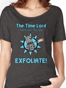 The Time Lord Salon and Day Spa Women's Relaxed Fit T-Shirt