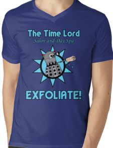 The Time Lord Salon and Day Spa Mens V-Neck T-Shirt