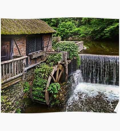 Gomez Mill House The Grist Mill Poster