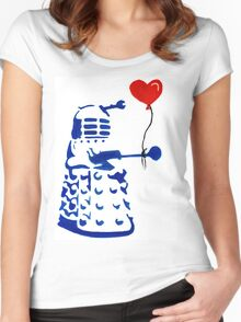 Dalek Love Tee Women's Fitted Scoop T-Shirt