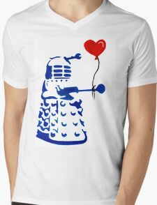 Dalek Love Tee Mens V-Neck T-Shirt