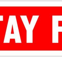 Stay Fit Sticker